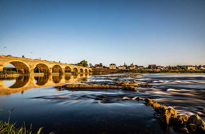 Le pont de Les Ponts de Cé