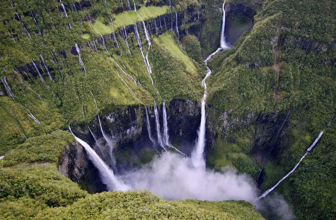 Le Trou de Fer, plus grande Cascade de France