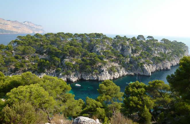 Les sentiers des calanques en Provence