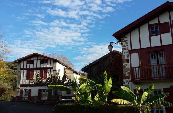 Maisons typiques du Pays Basque