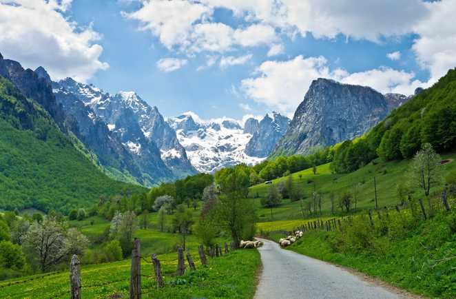 Montenegro, Prokletije moutains
