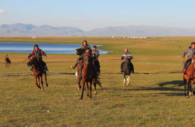 Nomades au lac song koul