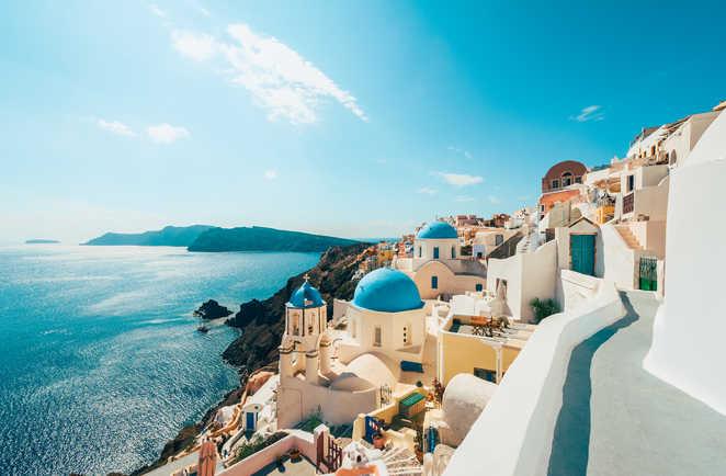 Oia Santorin, Grèce