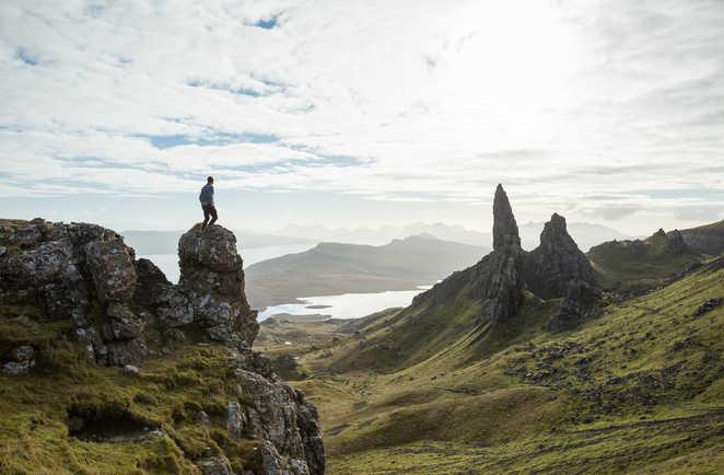 Old man of Storr, île de Skye