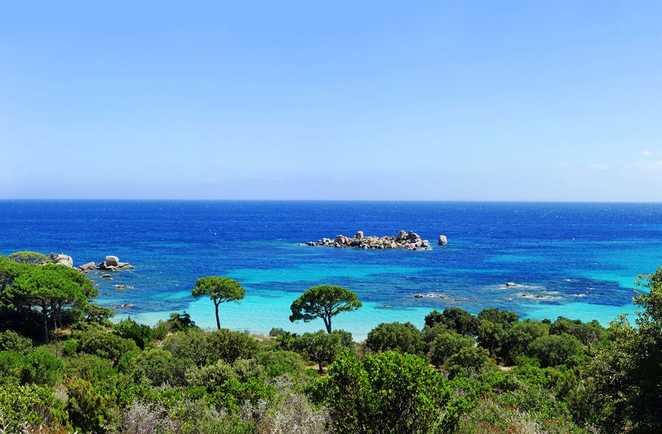 Palombaggia, plage du sud de la Corse