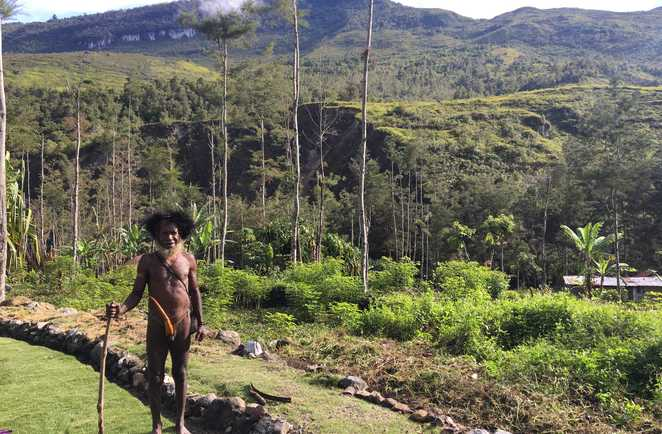 Papu, Vallée de Baliem, Papouasie, Indonésie