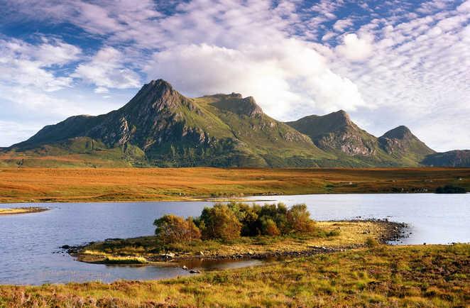 Paysage Lac Montagne