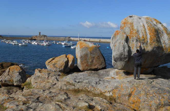 Petit port de Cornouaille en Bretagne