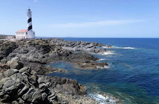 Phare de Favàritx à Minorque