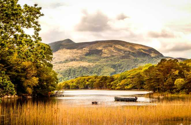 Lac Wicklow Way Irlande