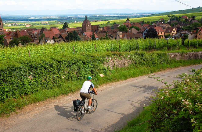 Circuit Vélo Liberté Alsace France