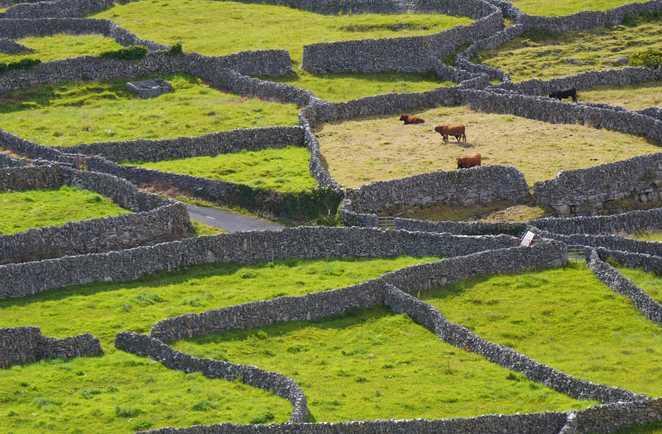 Paysage Iles Aran Irlande