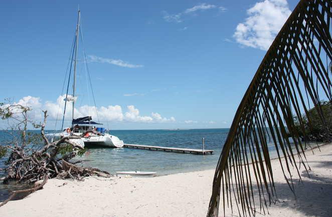 plage de Cayo Blanco