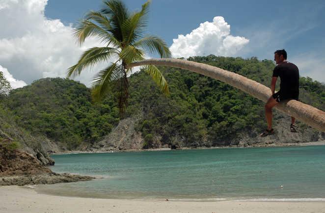 Plage paradisiaque de la péninsule de Nicoya