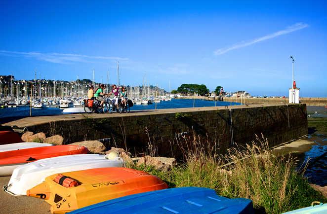 Port breton Tour Manche Bretagne