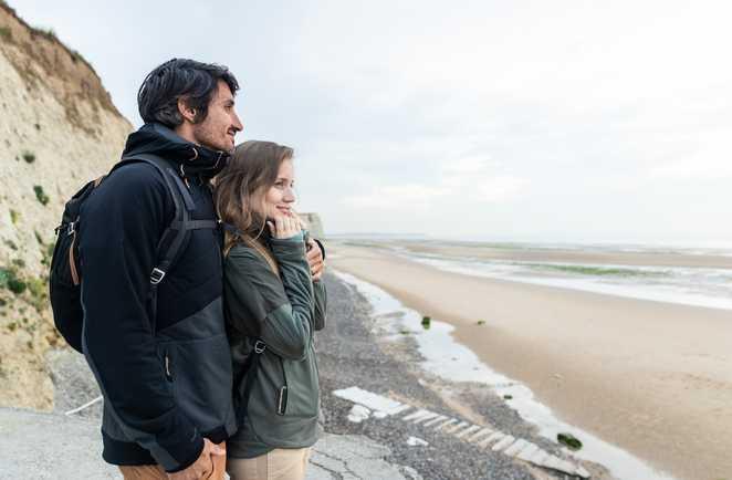 Rando nature en bord de mer en Normandie