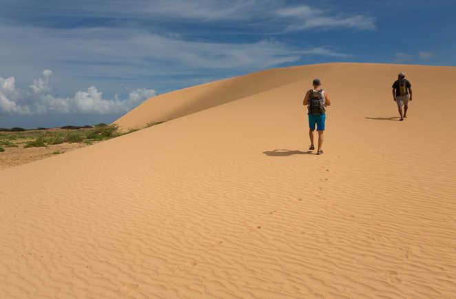 Rando sur les dunes à Punta Gallinas, Guajira