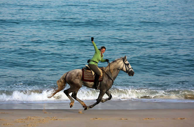 Randonnée à cheval au Portugal