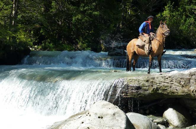 Randonnée à cheval en Argentine