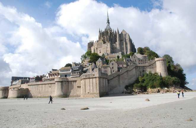 Randonnée au Mont Saint Michel