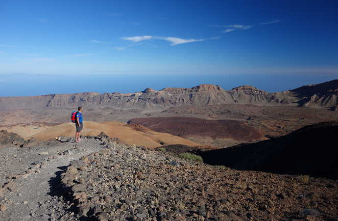 Randonnée au Parc National du Teide à Tenerife