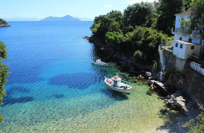 Randonnée côtière sur la mer ionienne en Albanie