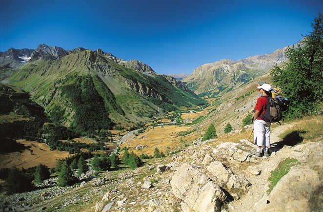 Randonnée dans la vallée de l'Ubaye, Alpes du sud