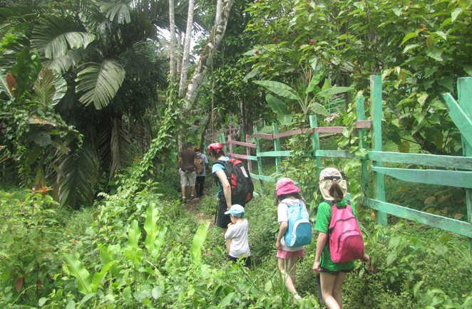 Randonnée en famille au Costa Rica