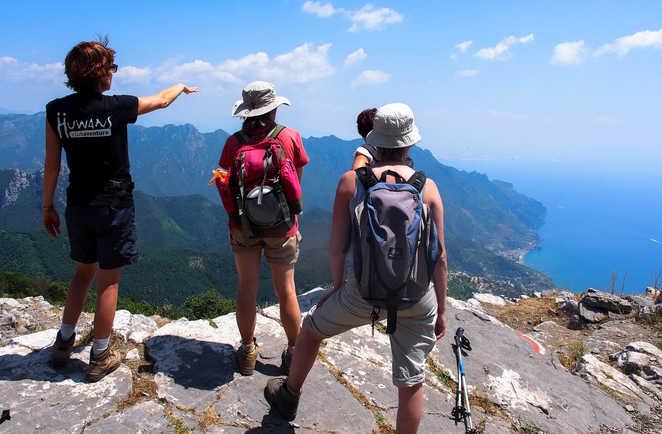 Randonnée sur les Monti Lattari