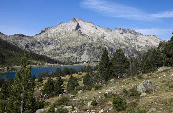 Randonnées autour des lacs de la réserve de Néouvielle