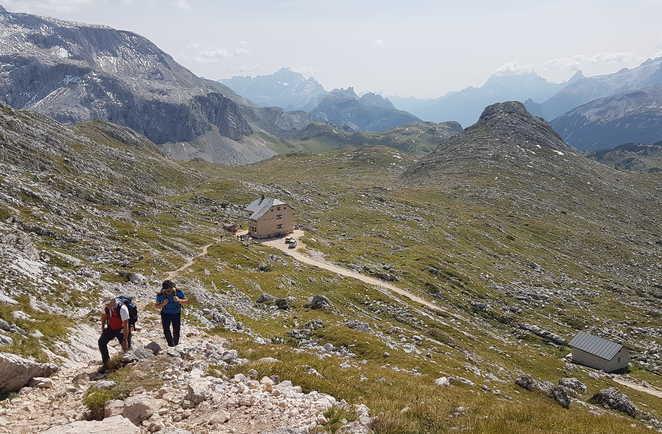 Refuge Biella Dolomites