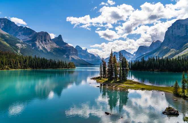 Spirit island, Jasper, Rocheuses canadiennes