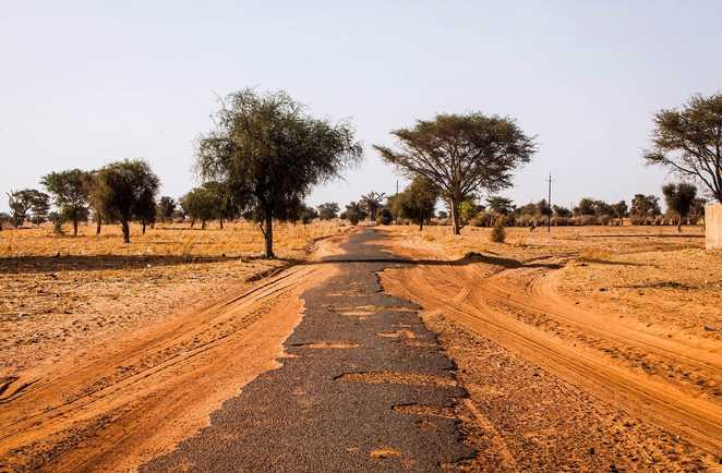 Sur la piste de Kedougou dans le Sénégal oriental
