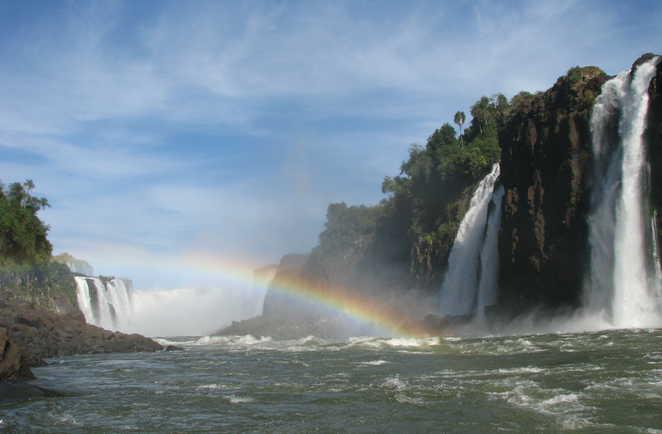 Tour en bateau dans les Chutes d'Iguaçu
