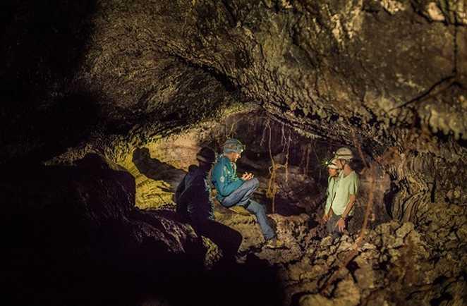 Tunnel de lave, la Réunion