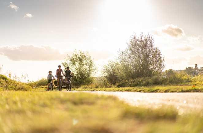 Vélo en famille dans le val de Loire