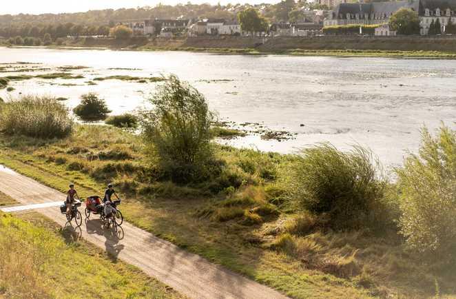Vélo entre Blois et Orléans