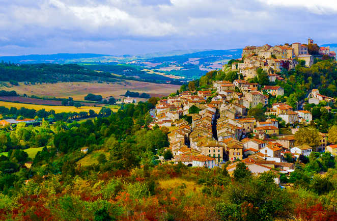 Village de Cordes-sur-Ciel, Occitanie