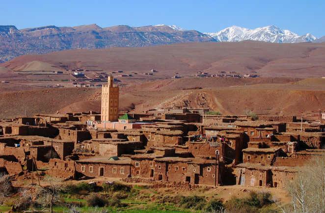 Village de Telouet, Maroc