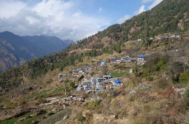 Village du Langtang