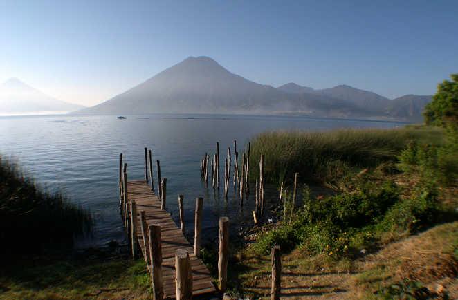 ran trek Guatemala, lac atitlan, volcan san pedro, Cuchumatanes