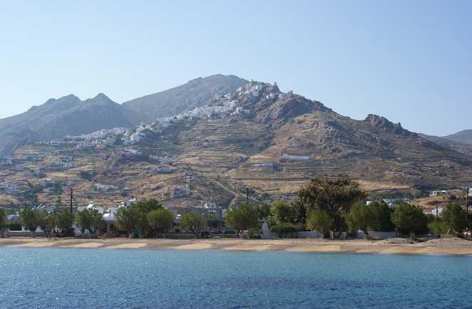 vue de la mer de Sérifos , Cyclades occidentales