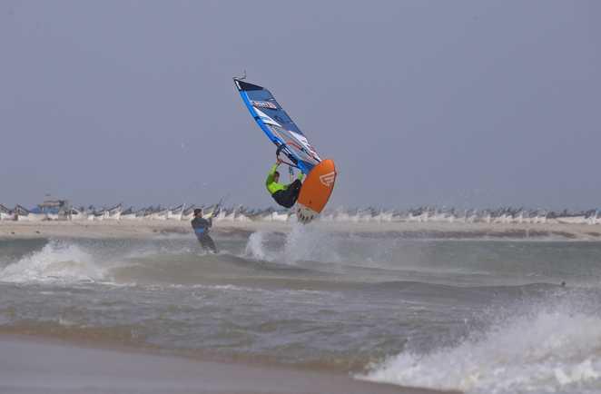 windsurf session à Dakhla Lagoon avec ION CLUB