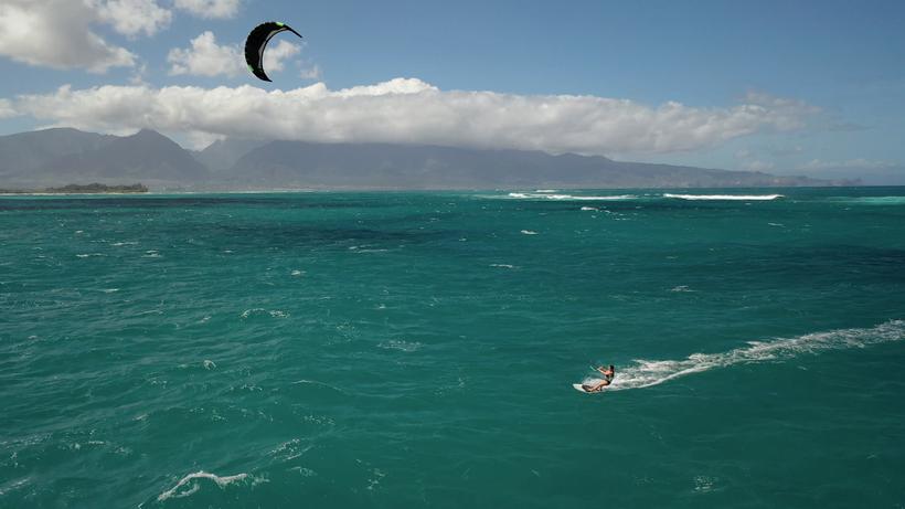 Kitesurf à Hawaï