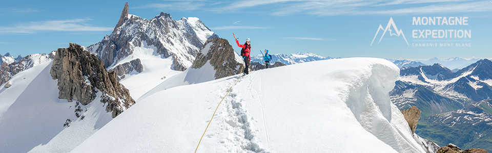 Ascension du Mont Blanc avec Montagne Expédition