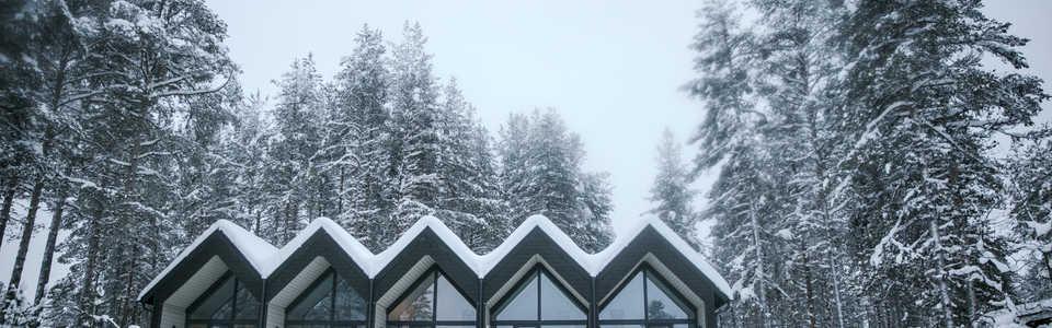 Hébergements écologiques en Finlande