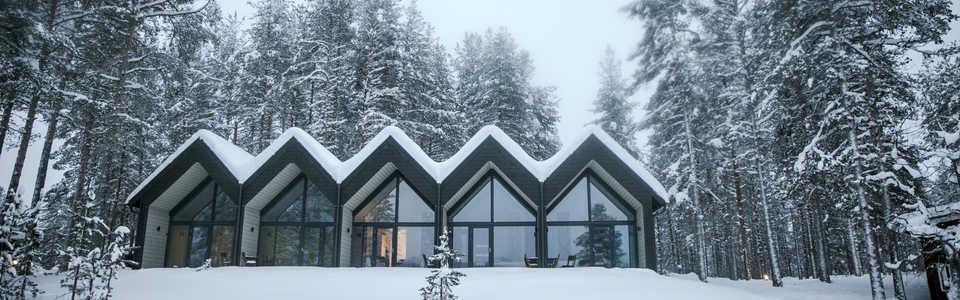 Hôtel de notre base Norwide Finlande