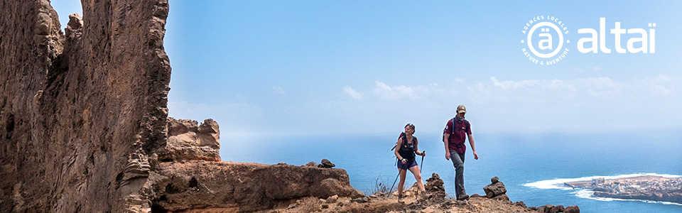 Randonnée au Cap Vert avec Altai Cabo Verde