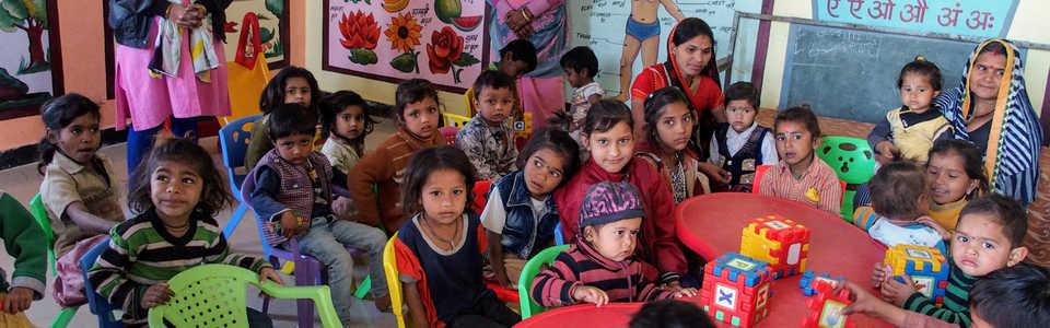 Scolarisation d'enfants en Inde - projet Gandhi