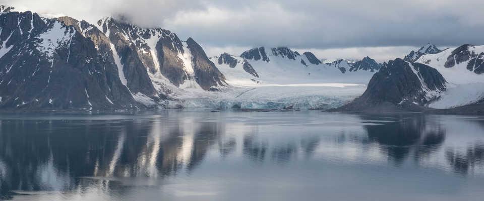 Glacier du Svalbard